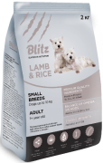 Купить Blitz adult small breeds lamb & rice