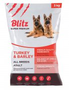 Купить Blitz adult turkey & barley