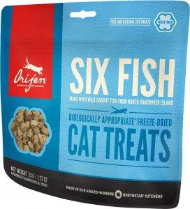 ORIJEN FD Six fish cat